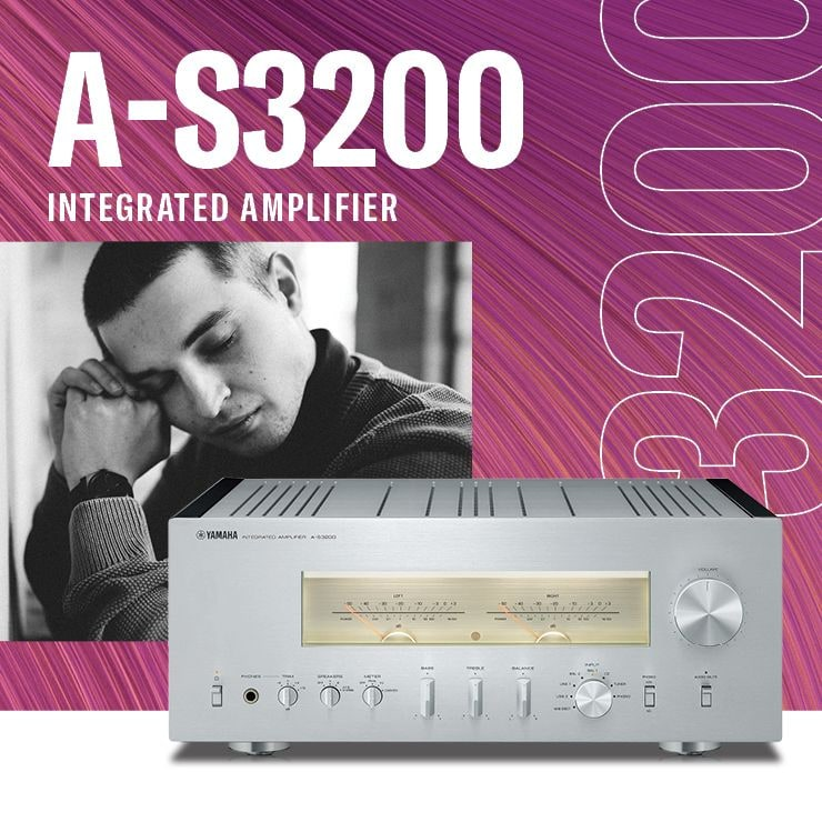 A-S3200 Integrated Amplifier - Header Banner - Mobile