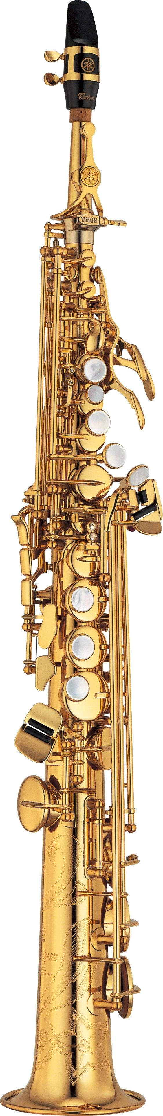 Yss 875ex 875exhg overview saxophones brass for Yamaha custom ex soprano