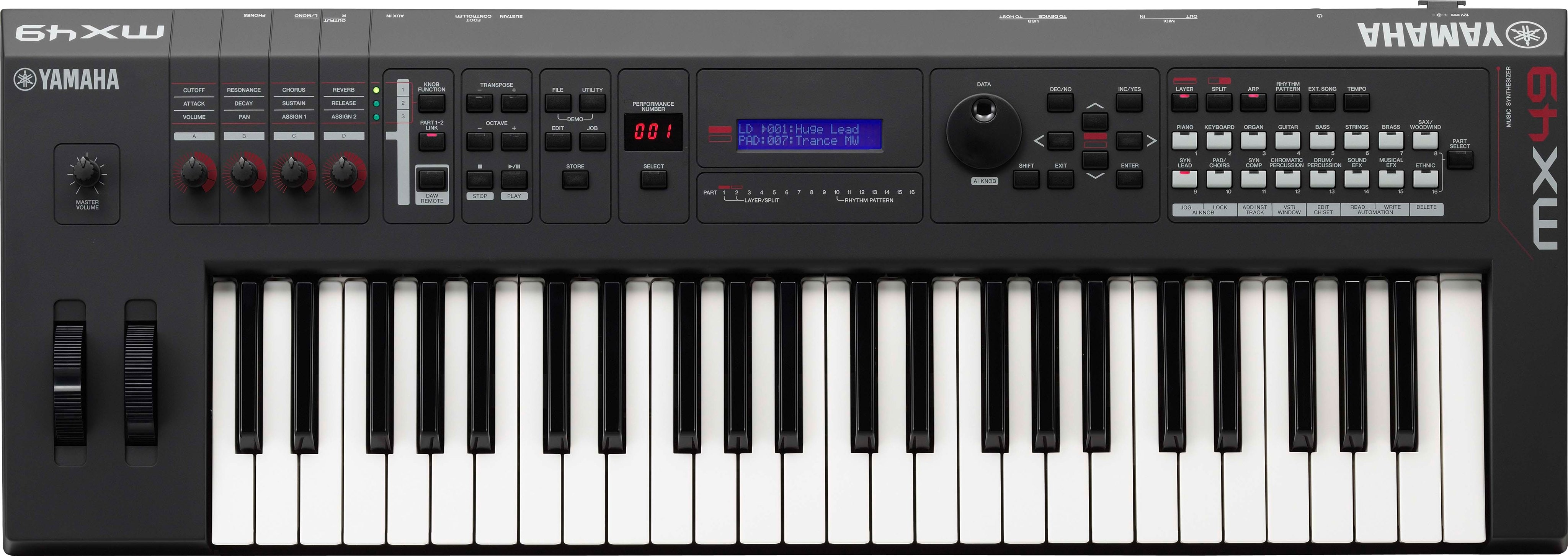 Mx series overview synthesizers synthesizers music for Yamaha a3000 keyboard