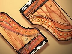 Two world class concert grands in one digital piano.