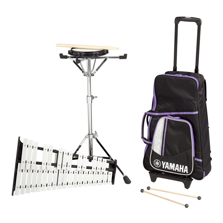 Spk 285 spk 285r overview total percussion for Yamaha student bell kit with backpack and rolling cart