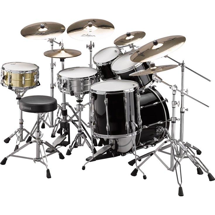 recording custom overview drum sets acoustic drums drums musical instruments. Black Bedroom Furniture Sets. Home Design Ideas