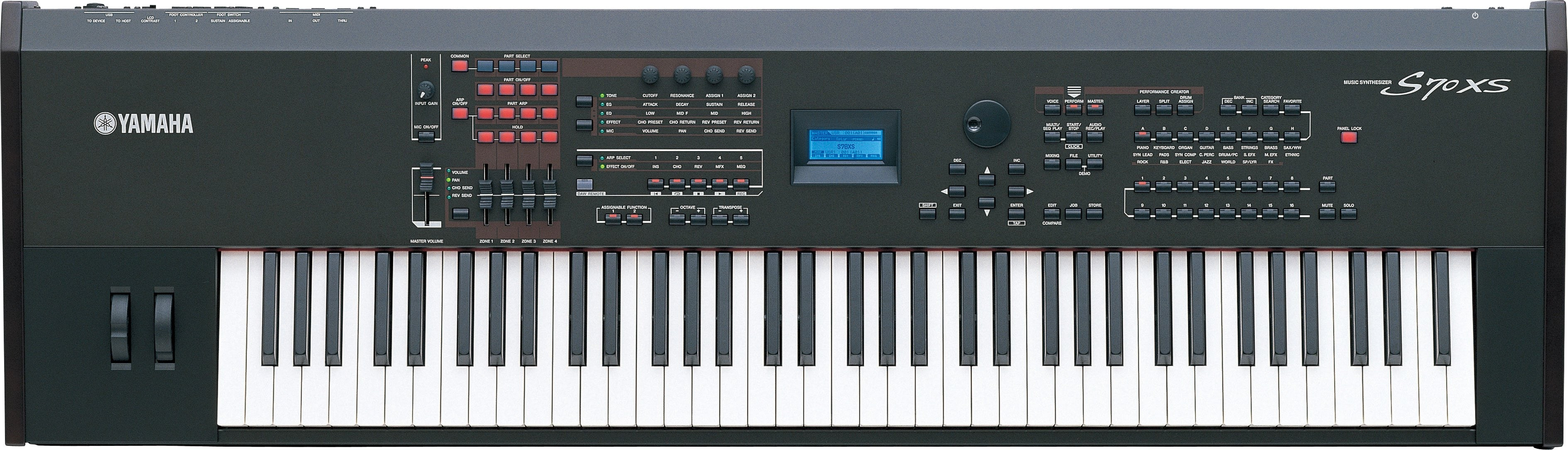 S90 XS/S70 XS - Overview - Synthesizers - Synthesizers