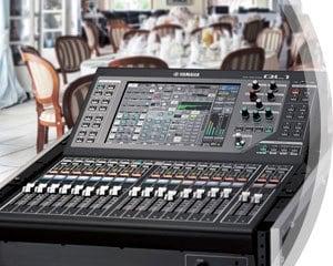 Ql series features mixers professional audio for Yamaha ql 3