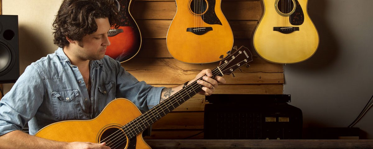 A series overview acoustic guitars guitars basses for Yamaha a5r are
