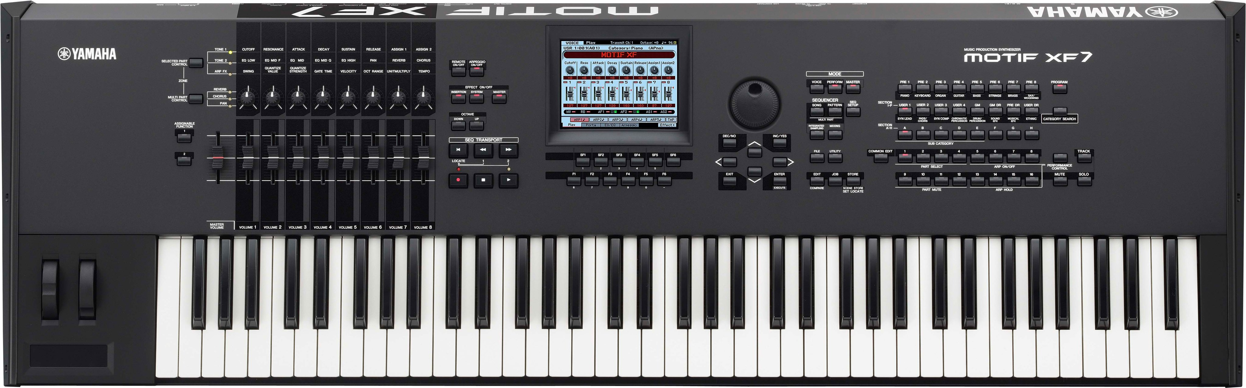 motif xf overview synthesizers synthesizers music