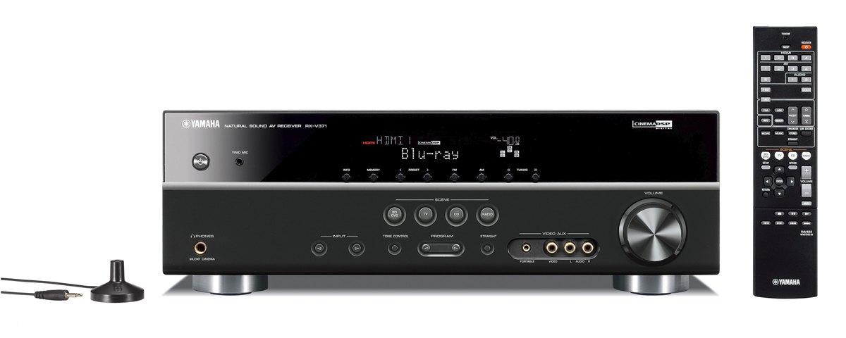 Rx V371 Specs Av Receivers Audio Visual Products