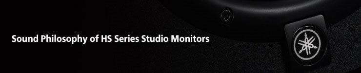 "Yamaha HS8 8"" Powered Studio Monitor"
