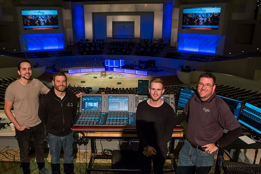 Mega-Baptist Church Upgrades with Dual Yamaha RIVAGE PM10 Digital