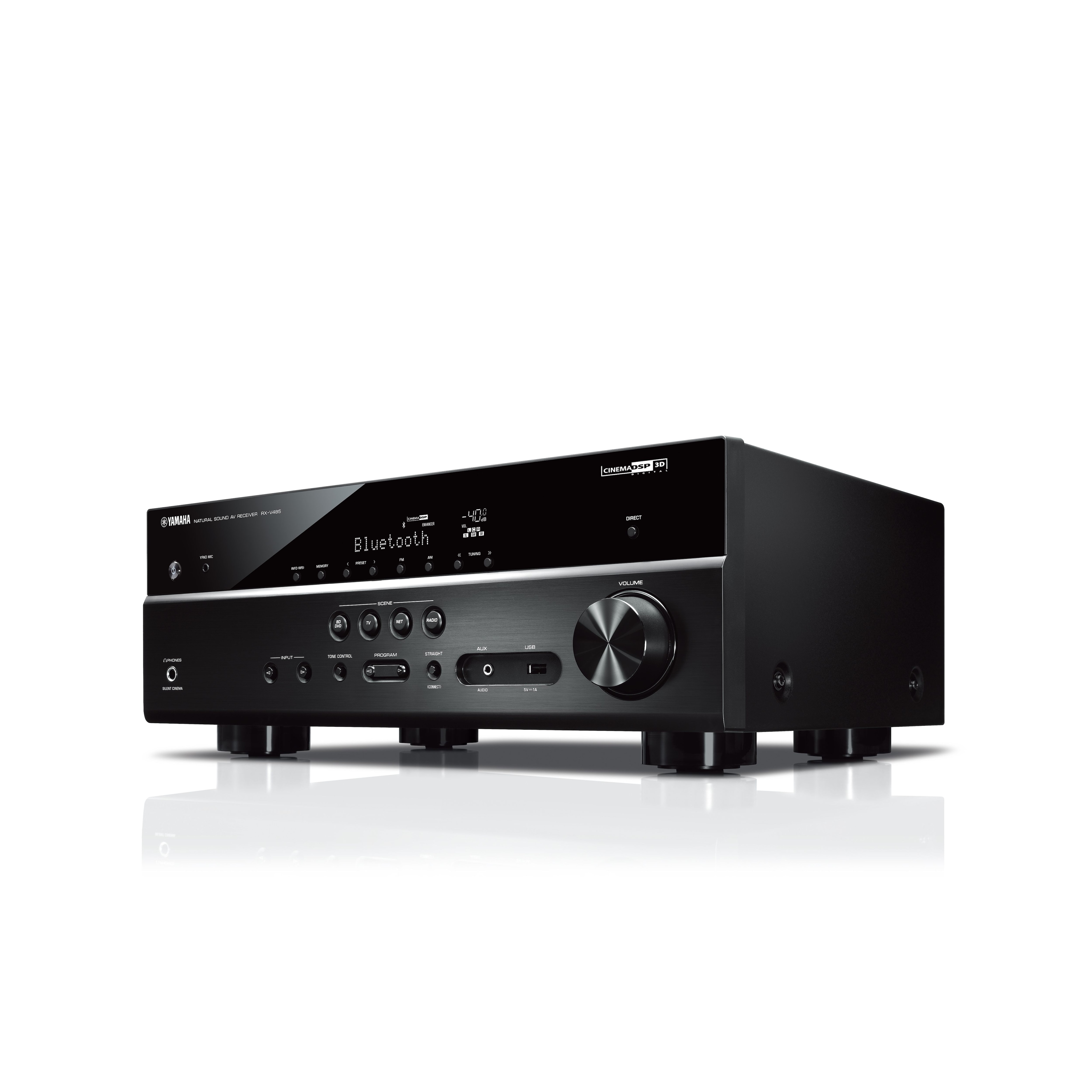Rx V485 Overview Av Receivers Audio Visual Products Making Home Theater 51 Surround Amplifier Yamaha United States