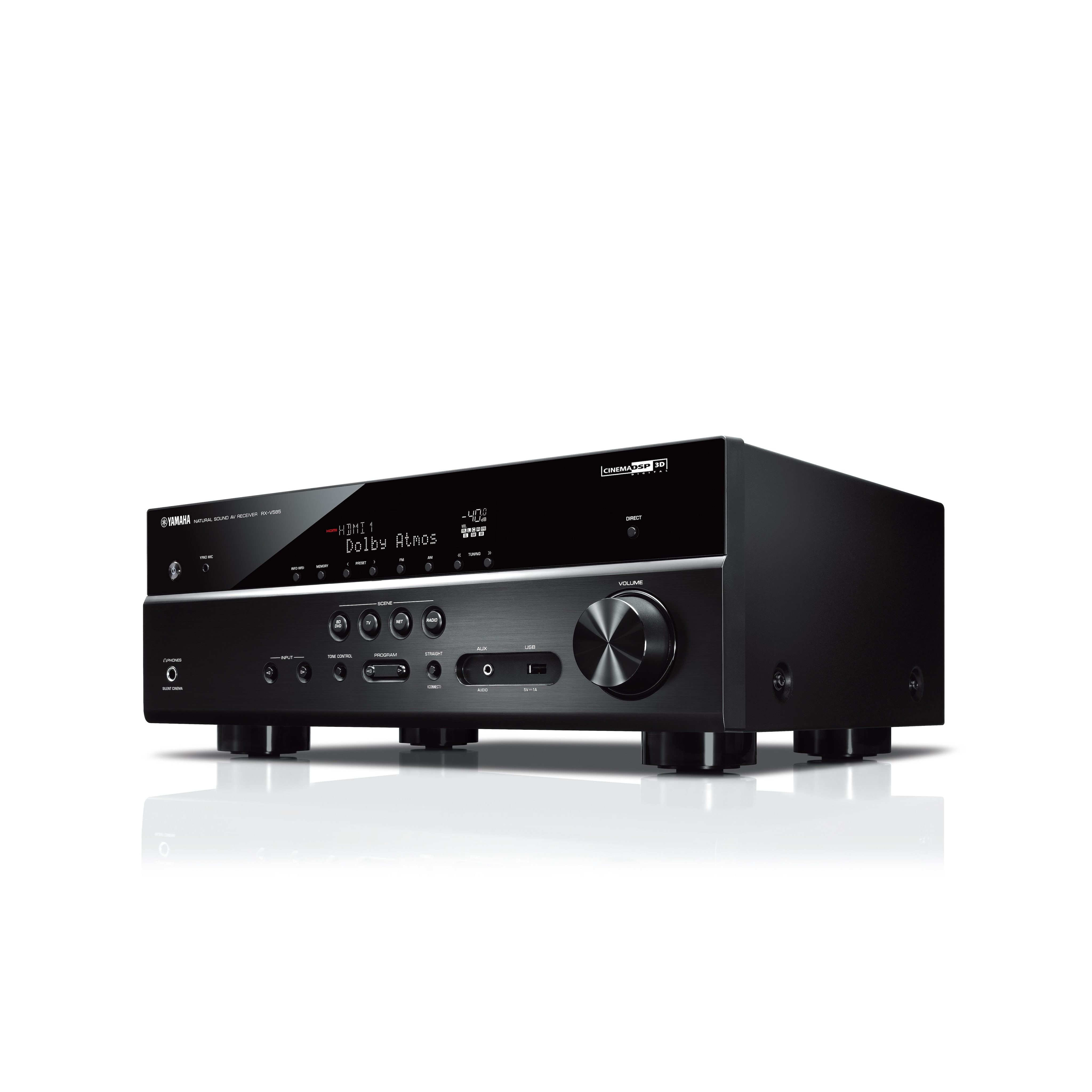 Rx V585 Overview Av Receivers Audio Visual Products Wiring Diagram Home Theater Amplifier 5 1 Yamaha United States