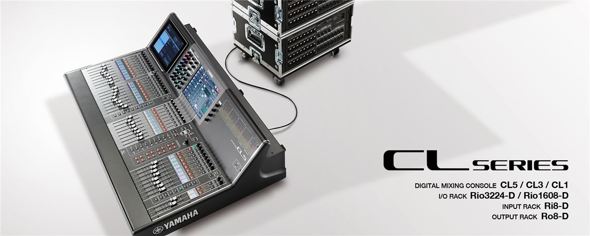CL Series - Features - Mixers - Professional Audio - Products