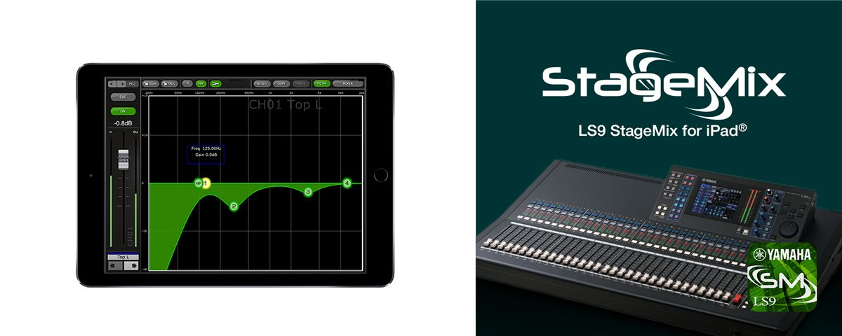 Ls9 Stagemix Overview Software Professional Audio Products