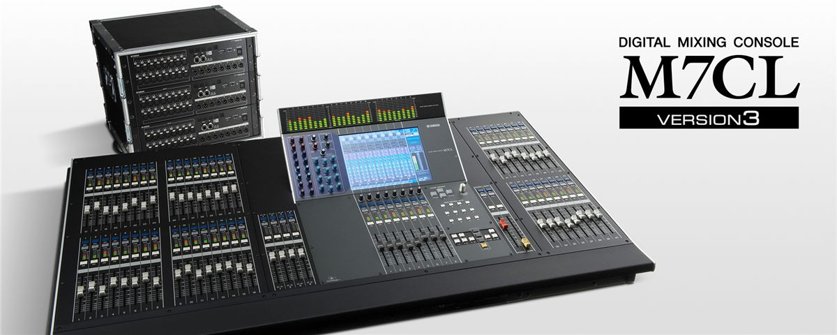 Yamaha M7CL 48 Digital Mixing Console With Yamaha MBM7CL Meter Bridge for M7CL