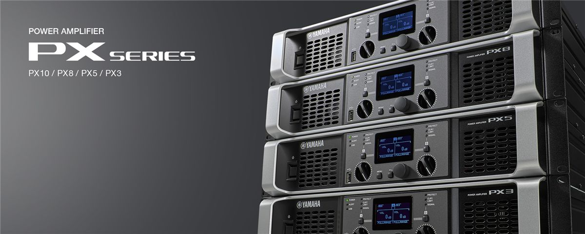 PX Series - Overview - Power Amplifiers - Professional Audio