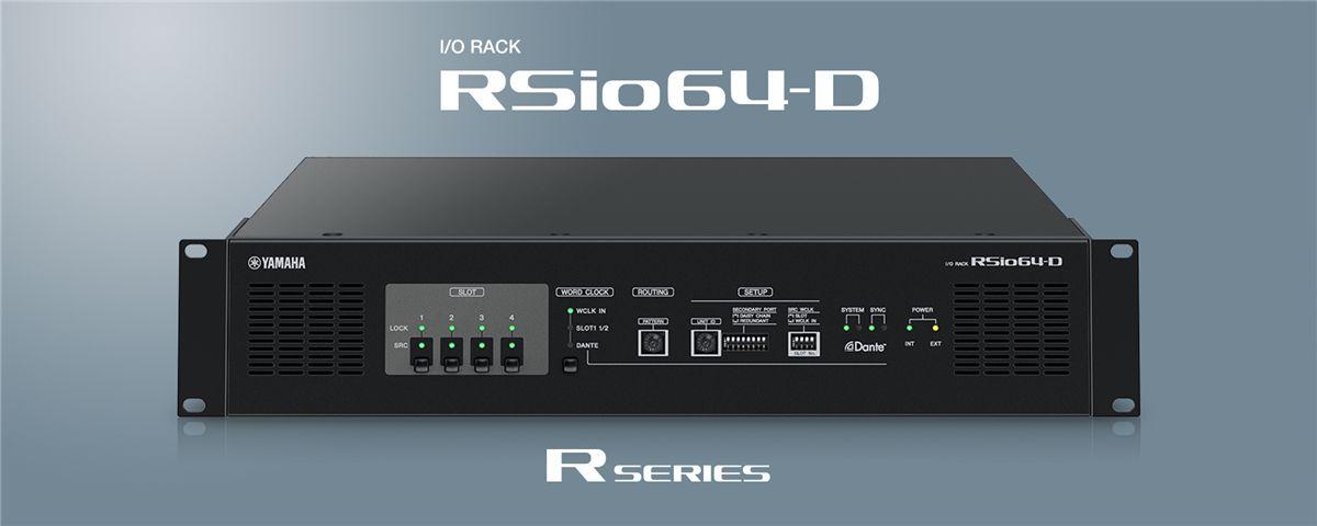 Driver UPDATE: Yamaha RSio64-D Interface