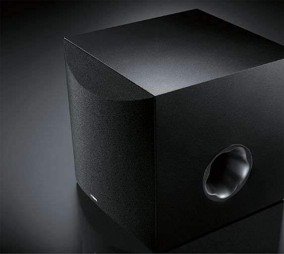 Yamaha YAS-108 Sound Bar with Built-in Subwoofers Subwoofer_output_573x513_26a6d1628e052381b9ea10c861655bbc