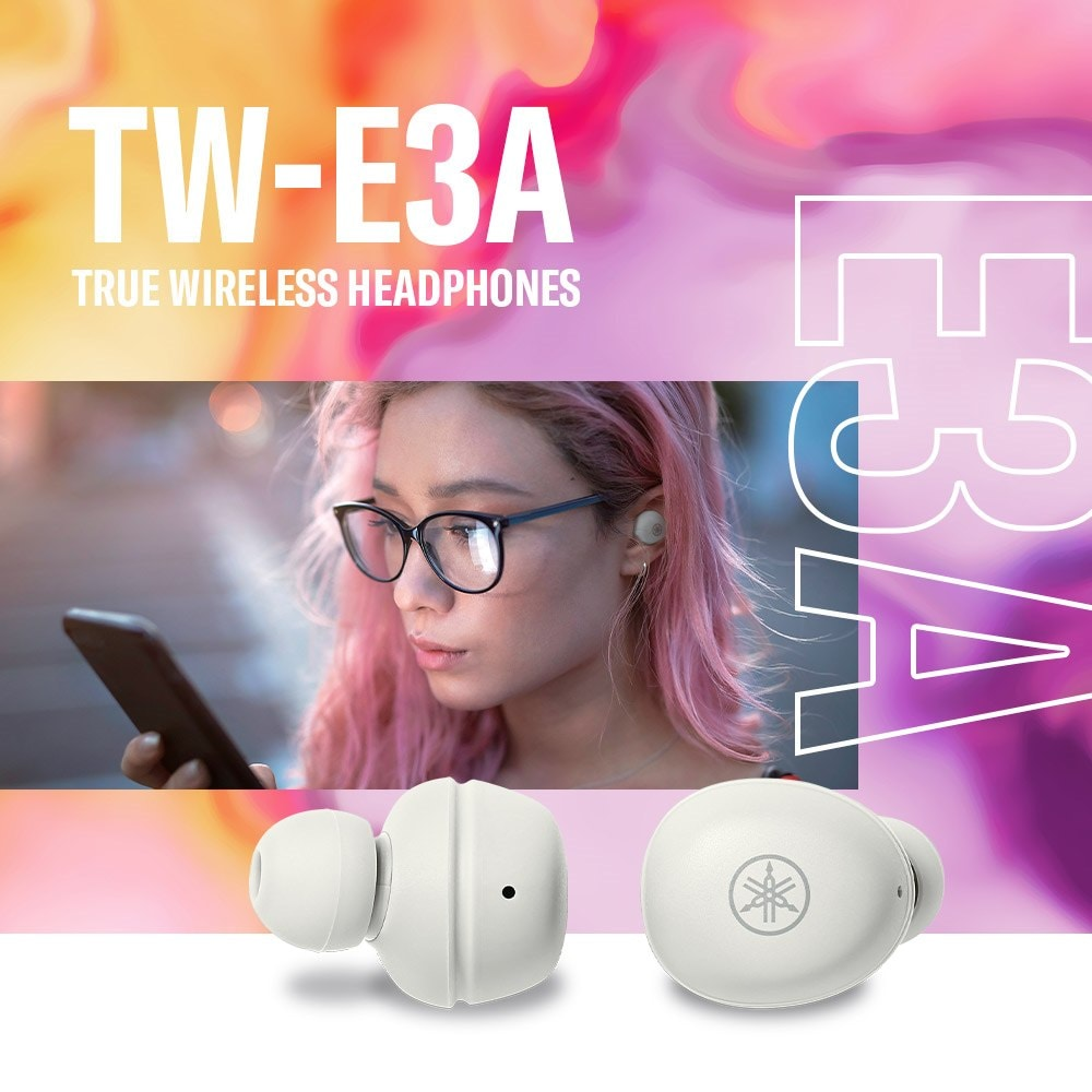 Yamaha TW-E3A True Wireless Earbuds Header - Mobile