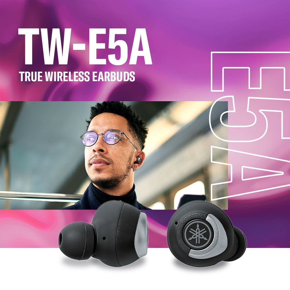 Yamaha TW-E5A True Wireless Earbuds - Header - Mobile