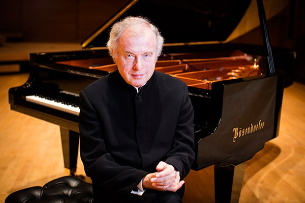 Sir Andras Schiff and Bosendorfer piano