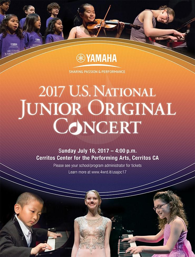 Yamaha National Junior Original Concert