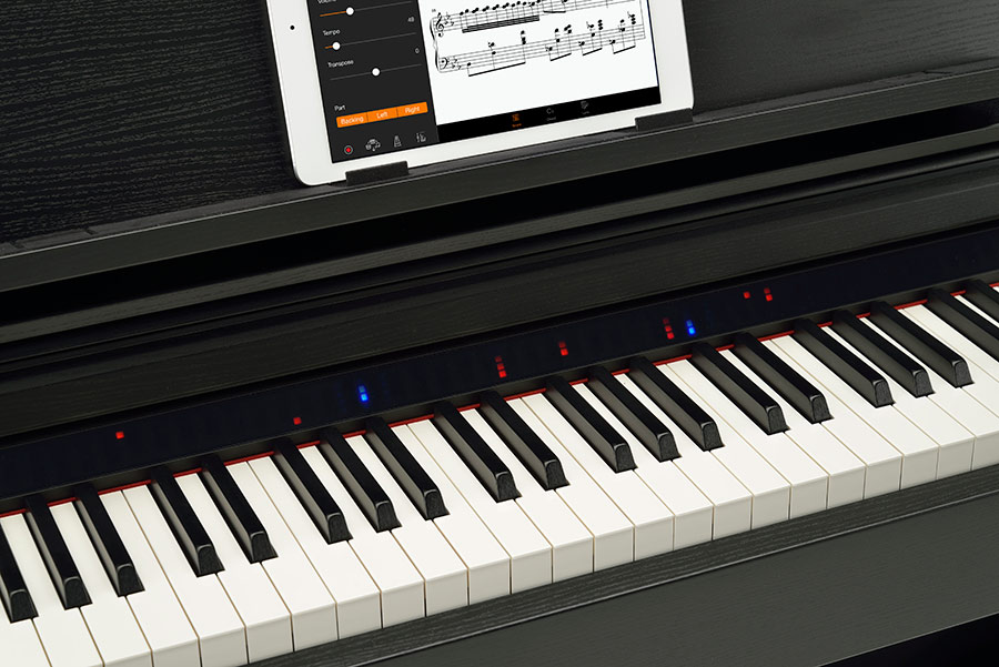 Yamaha Clavinova CSP is World's First Instrument to Let Anyone Play