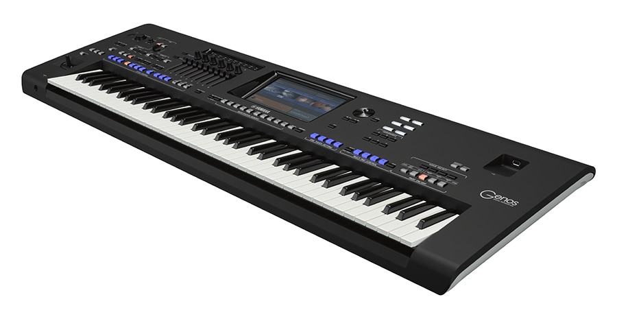 Incredible Sounds, Effects, and Styles Make Yamaha Genos the