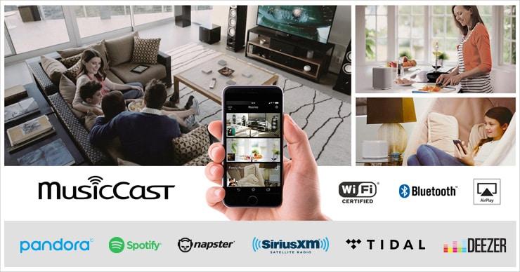 WXA-50 - Features - Wireless Streaming Amplifiers - Audio