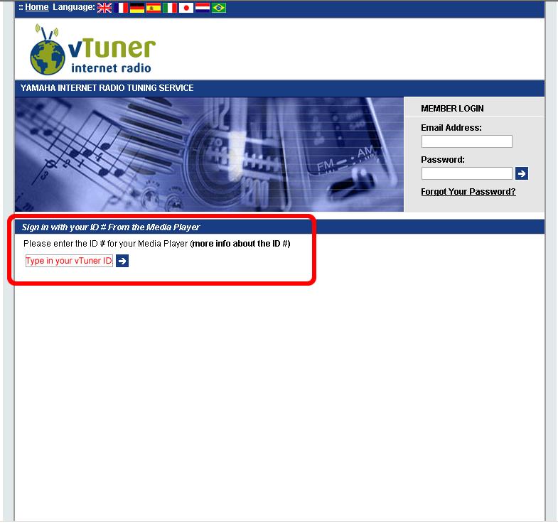 Bookmarking Your Favorite Internet Radio Stations - Yamaha