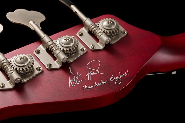 Autographed Headstock