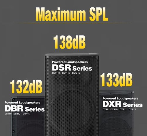 DSR/DXR/DBR/DXS Series   Powered Loudspeakers   Yamaha Commercial Audio