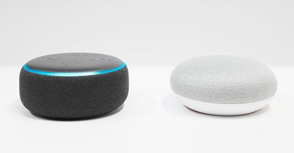 Voice Control (Alexa, Google Assistant and Siri)