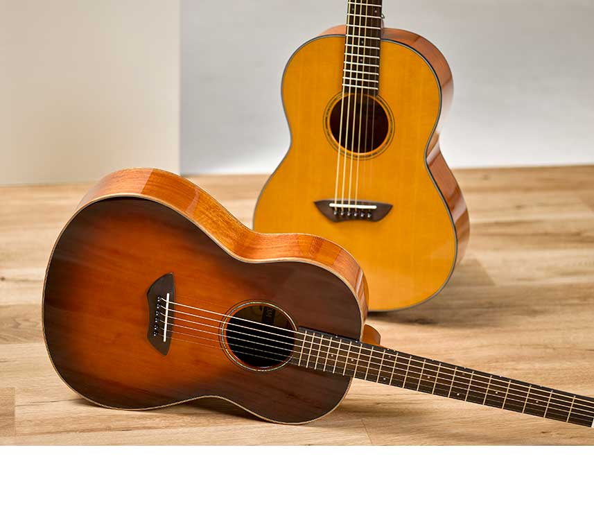 Yamaha CSF Series Acoustic Parlor Guitars Return with ...