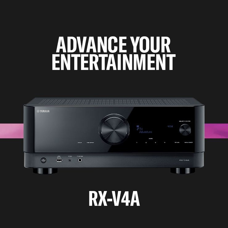 Advance Your Entertainment - Yamaha RX-V4A Receiver Header - Mobile