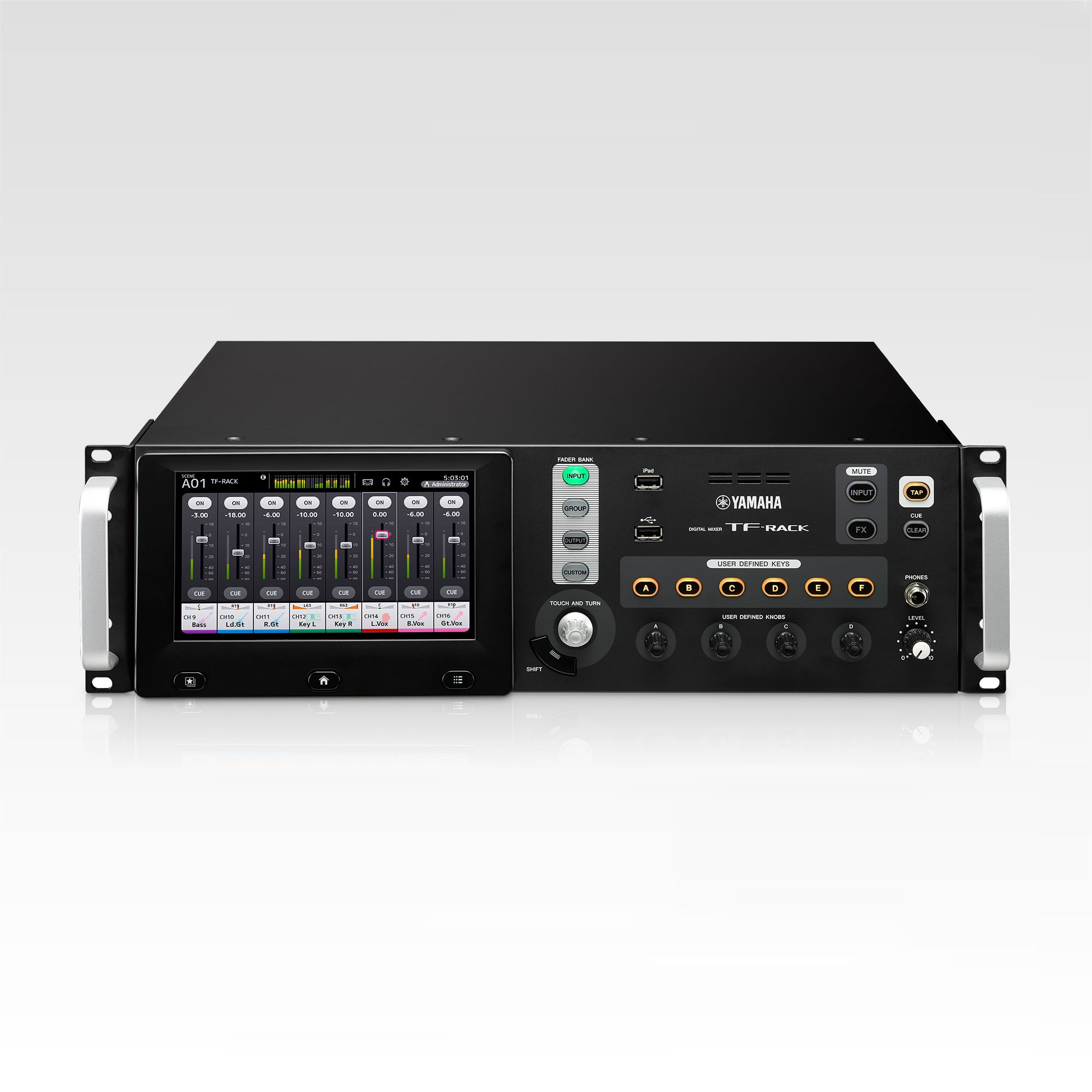 TF-RACK - Overview - Mixers - Professional Audio - Products