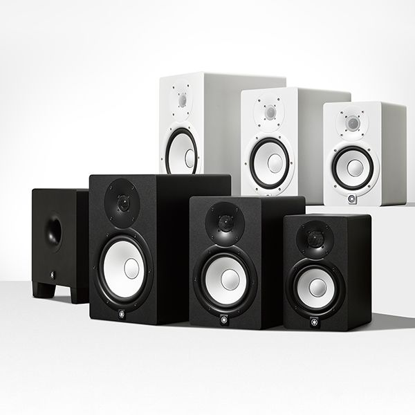 Hs msp studio series studio monitor speakers yamaha for Yamaha commercial audio