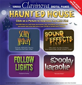 Free Promo Offers Spooky Halloween Sounds and Music - Yamaha