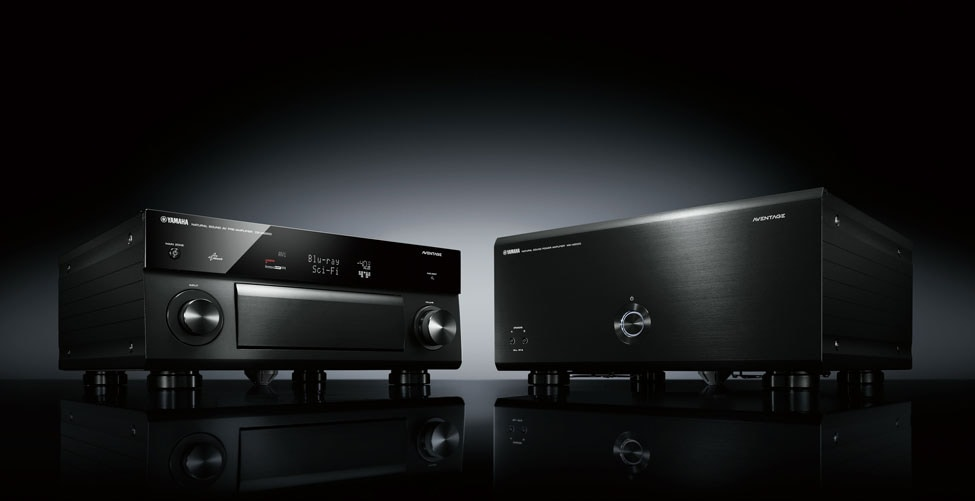 Yamaha Unveils First Flagship Aventage Preamp And Amp A New Era In Home Theater Begins In August