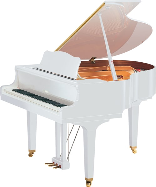Yamaha Gb1k Grand Piano To Be Available In Polished White Finish Attractive New Option For One Of The Company S Most Popular Models Yamaha United States