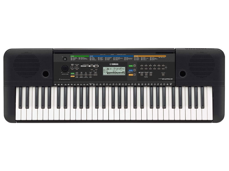 Yamaha introduces two powerful portable keyboards with the for Yamaha learning keyboard