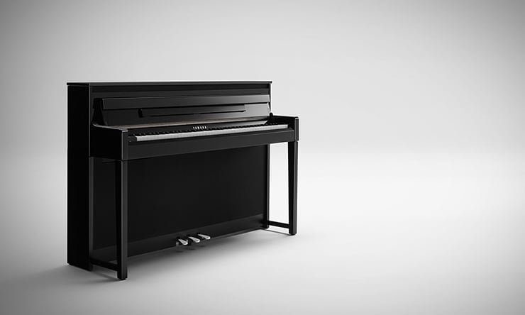 yamaha 39 s clavinova clp 585 receives german design award 2017. Black Bedroom Furniture Sets. Home Design Ideas